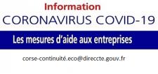 Soutien aux entreprises impactées par le COVID 19.