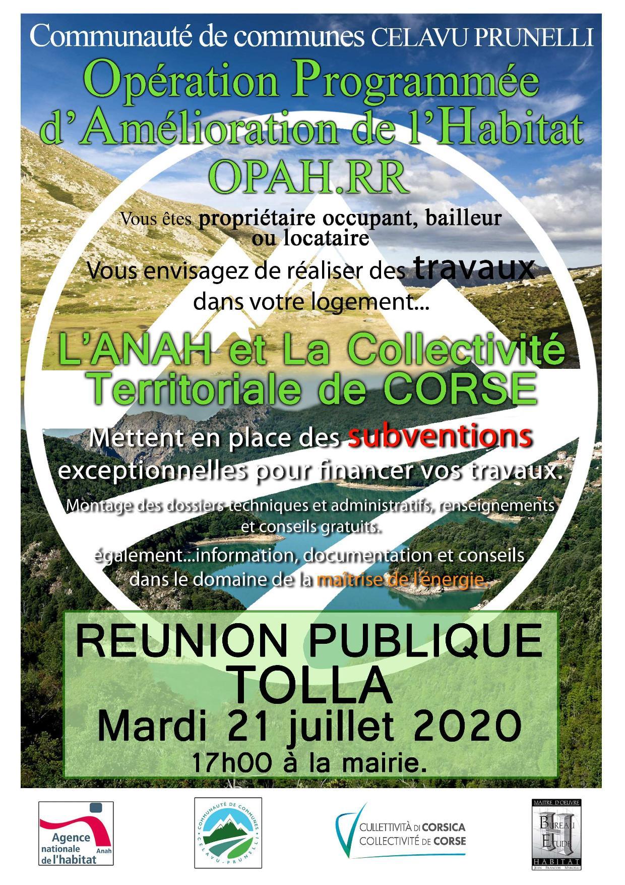Réunion publique sur le programme d'amélioration de l'habitat OPAH